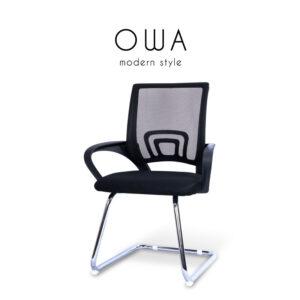 OWA (โอว่า) เก้าอี้สำนักงาน โครงขาเหล็ก เบาะผ้าตาข่าย